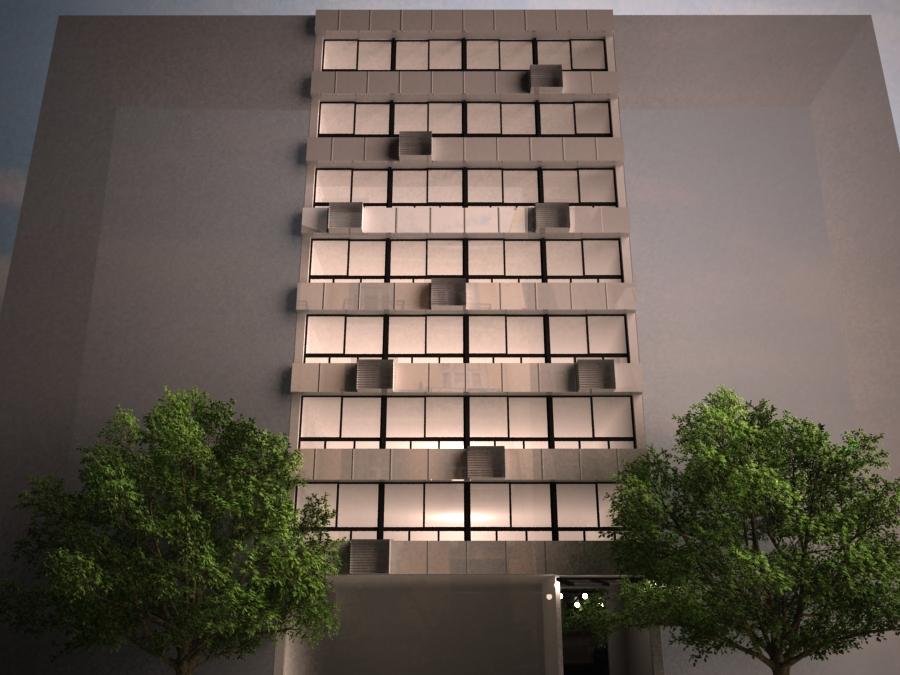 Φωτορεαλιστική άποψη του κτιρίου